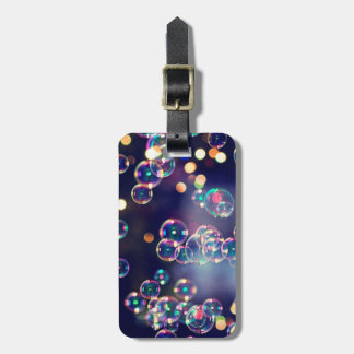 Tiny Bubbles Luggage Tag