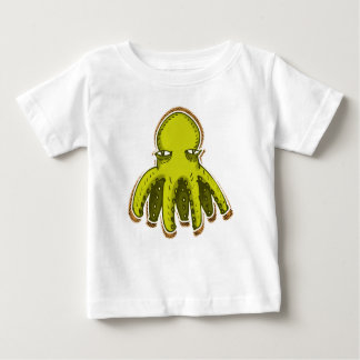 tiny cool octopus funny cartoon baby T-Shirt