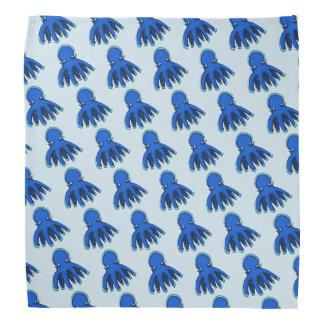 tiny cool octopus funny cartoon bandana