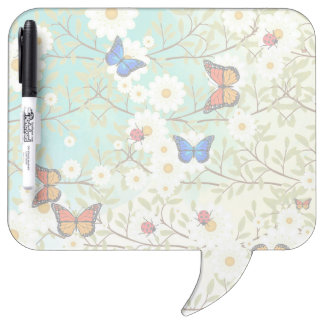 Tiny creatures dry erase board