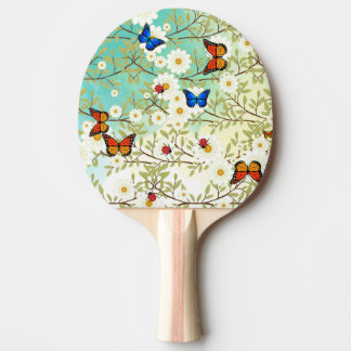 Tiny creatures ping pong paddle