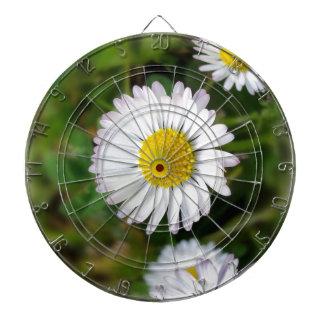 Tiny daisies dartboard