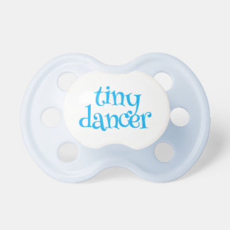 Tiny Dancer Blue Baby Pacifiers