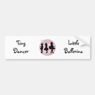 Tiny Dancer Bumper Sticker