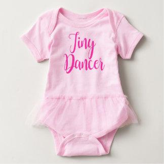 Tiny Dancer with tutu Baby Bodysuit