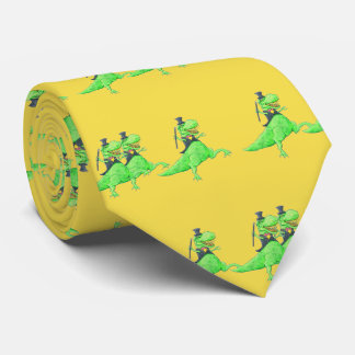 Tiny Dancing Dinosaurs Tie