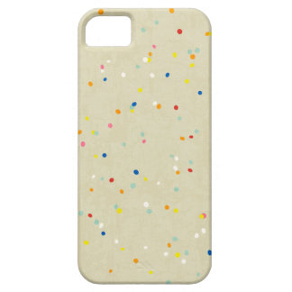 Tiny Dots Rainbow Confetti Sprinkle Print Case For The iPhone 5