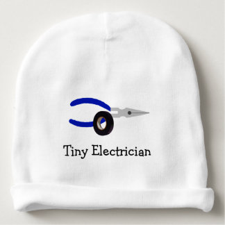 Tiny Electrician Infant Hat Baby Beanie