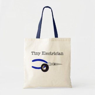 Tiny Electrician Tote Bag