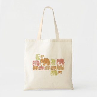 Tiny Elephant Tote Bag