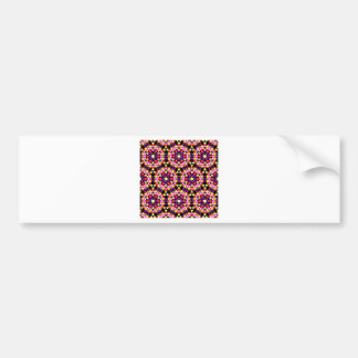 Tiny Floral Pattern Bumper Sticker