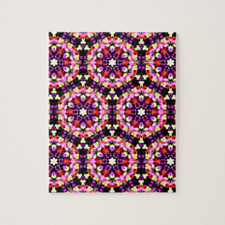 Tiny Floral Pattern Jigsaw Puzzle