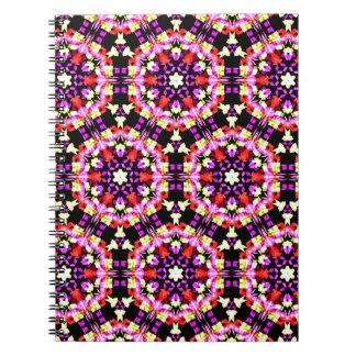 Tiny Floral Pattern Spiral Notebook
