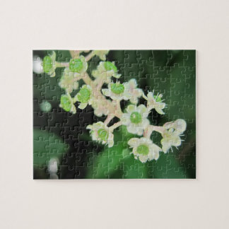 Tiny Flowers Relaxing Self-Care Jigsaw Puzzle