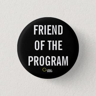 Tiny FOTP Button in Gowanus Sludge Black