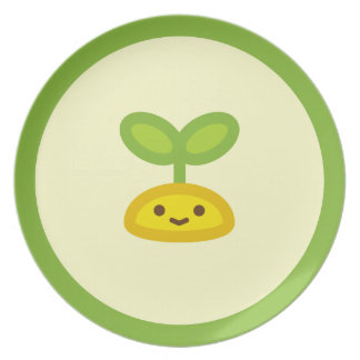 Tiny Green Sprout Plate