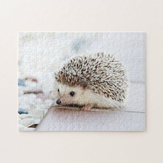 Tiny Hedgehog Jigsaw Puzzle