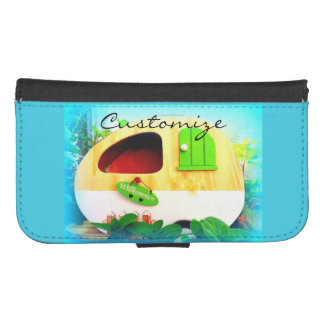 tiny house gypsy caravan galaxy s4 wallet cases