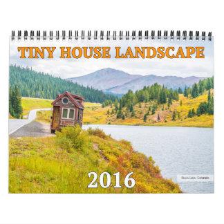 Tiny House Landscape Calendar 2016