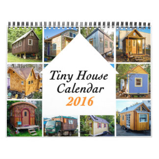 Tiny Houses 2016 ($25) Charity Calendars