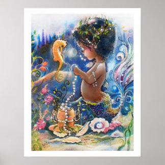 Tiny Island Princess of the Sea Poster