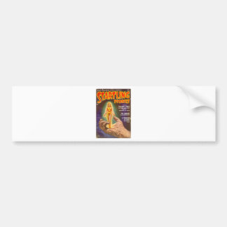 Tiny Lady in a yellow Dress Bumper Sticker