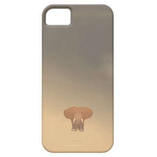 Tiny little elephant in Sahara Case For The iPhone 5