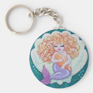 Tiny Mermaid Keychain