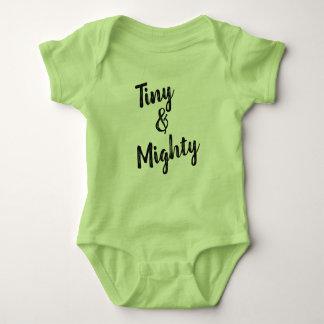 Tiny & Mighty Green Baby Bodysuit