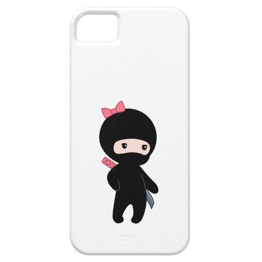 Tiny Ninja Girl iPhone 5 Cover