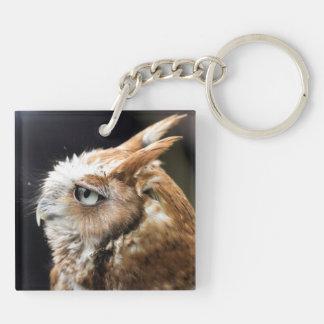 Tiny Owl Keychain