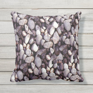 Tiny Pebbles Novelty Outdoor Pillow
