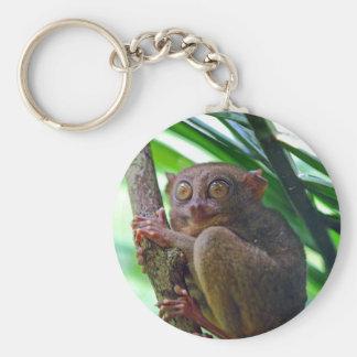 Tiny Philippine tarsier Keychain