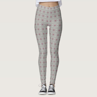 Tiny Pink Hearts Leggings