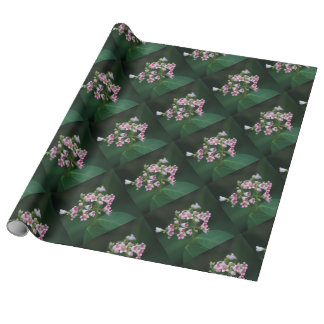 Tiny Pink Wildflowers Wrapping Paper
