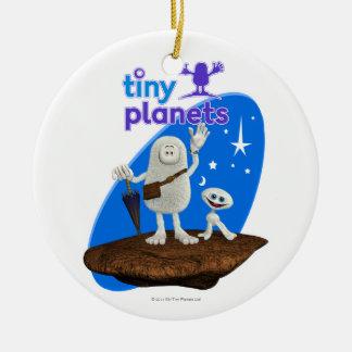 Tiny Planets Bing & Bong Ceramic Ornament