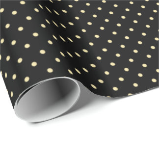 Tiny Polka Dots Gold ID290 Wrapping Paper