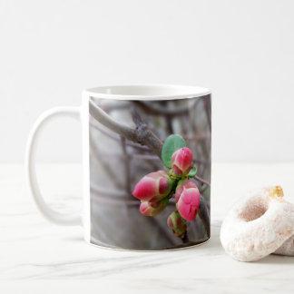 tiny red buds coffee mug