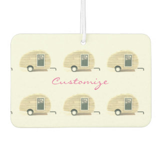 Tiny Retro Vintage camper Air Freshener