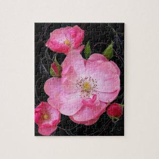 tiny rosebud opens jigsaw puzzle