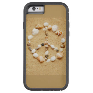 Tiny Seashell Peace Sign Tough Xtreme iPhone 6 Case