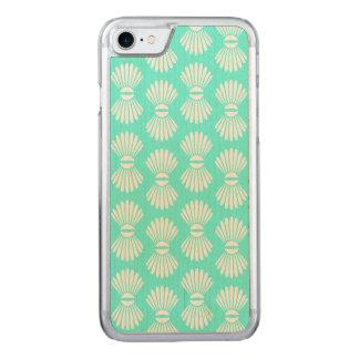 Tiny Seashells Aquamarine iPhone Case