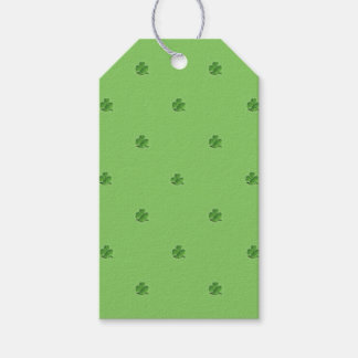 Tiny Shamrocks St. Patrick's Day Gift Tags