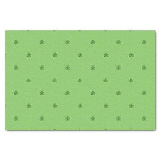 Tiny Shamrocks St. Patrick's Day Print Tissue Paper