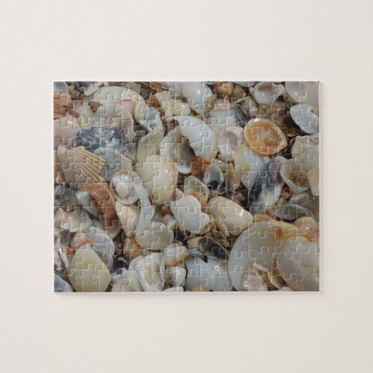 Tiny Shells Beach Sand Jigsaw Puzzle