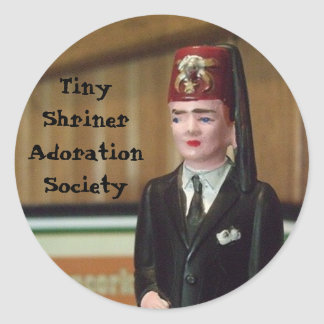 Tiny Shriner Sticker