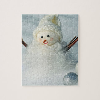Tiny Snowman Jigsaw Puzzle