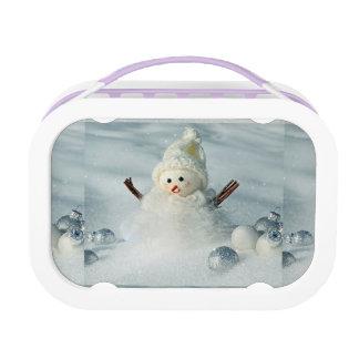 Tiny Snowman Lunch Box
