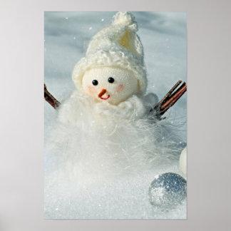 Tiny Snowman Poster