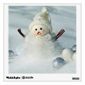 Tiny Snowman Wall Sticker